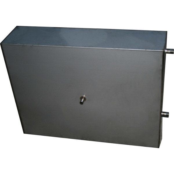 Бак для душа с подогревом Успех (нержавеющая сталь, 80 л)