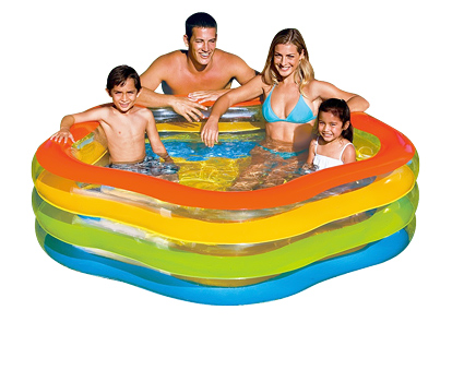 Бассейн Summer Colors Intex 56495 185х180х53 см