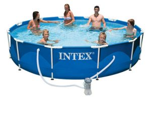 Бассейн Metal Frame Intex 56996 с комплектом 366х76 см