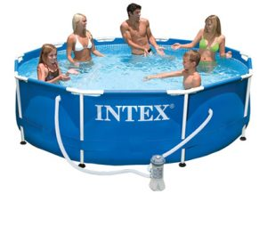 Бассейн Metal Frame Intex 56999 с комплектом 305х76 см