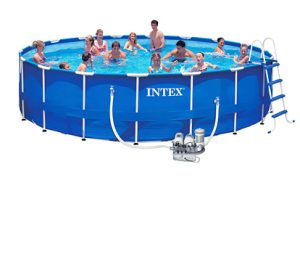 Бассейн Metal Frame Intex 57954 с комплектом 549х122 см