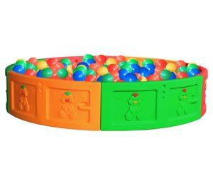 Круглый бассейн для шариков Sundays QC-10005