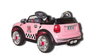 Электромобиль Mini Cooper Розовый Sundays JE118