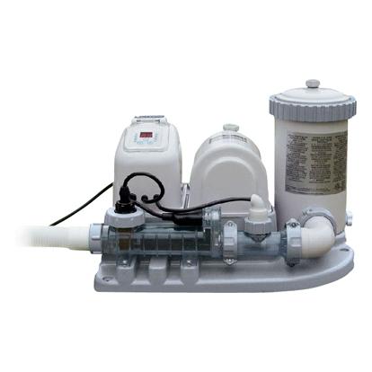 Хлоргенератор + фильтр-насос