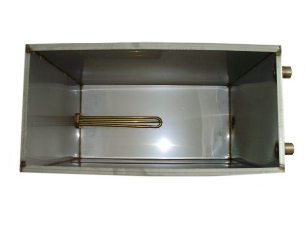 Бак для душа с подогревом Успех (нержавеющая сталь, 60 л)