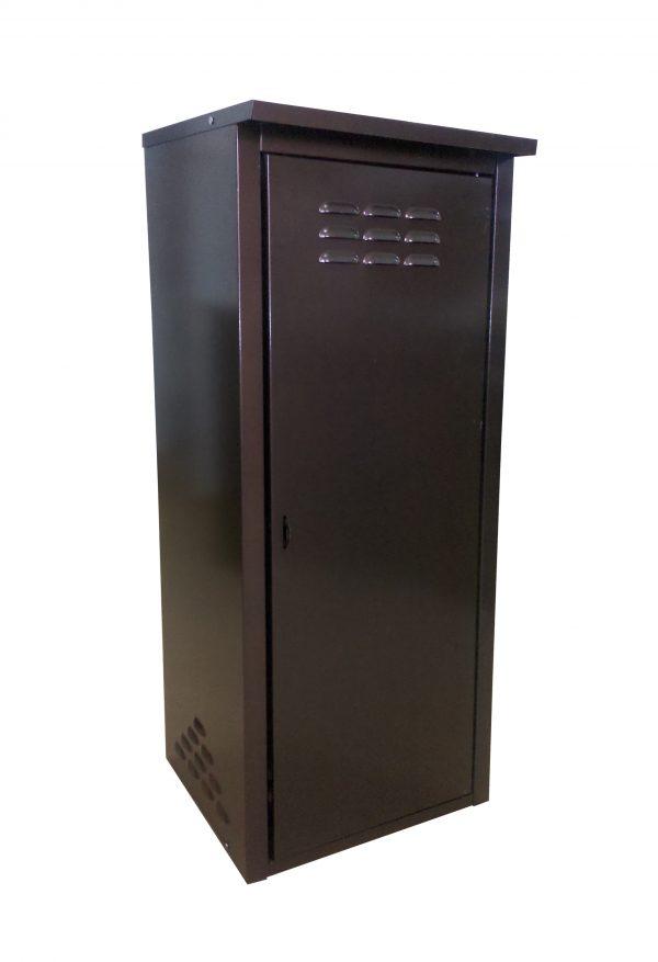 Шкаф для 1 газового баллона 50л Коричневый