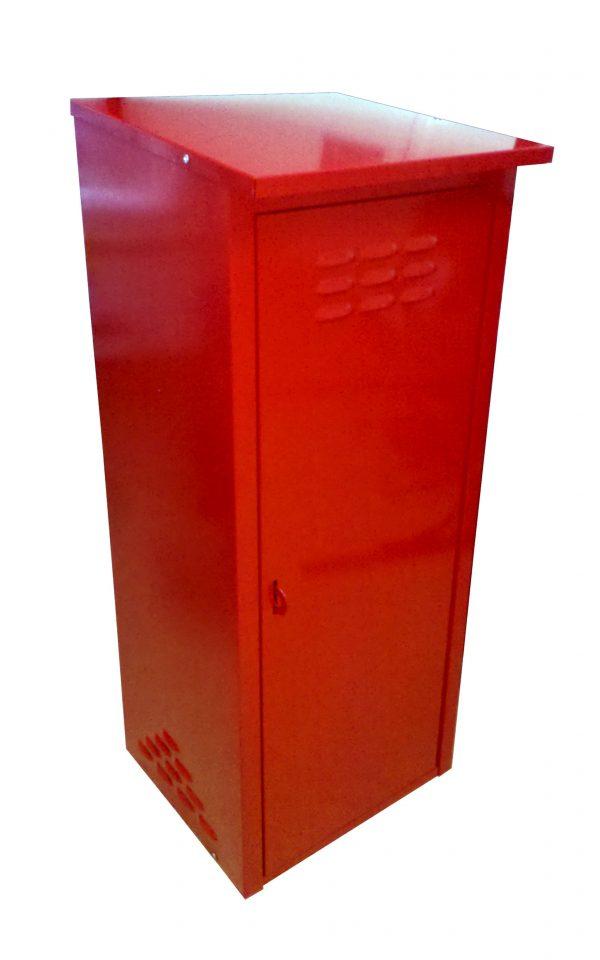 Шкаф для 1 газового баллона 50л Красный