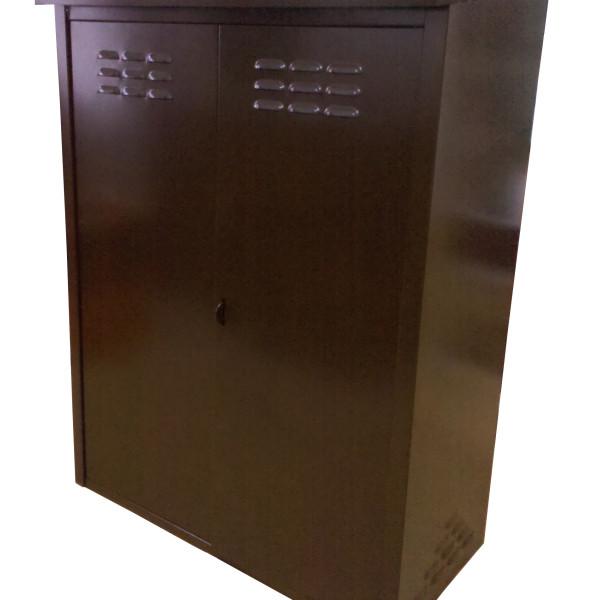 ящик для газовых баллонов коричневый