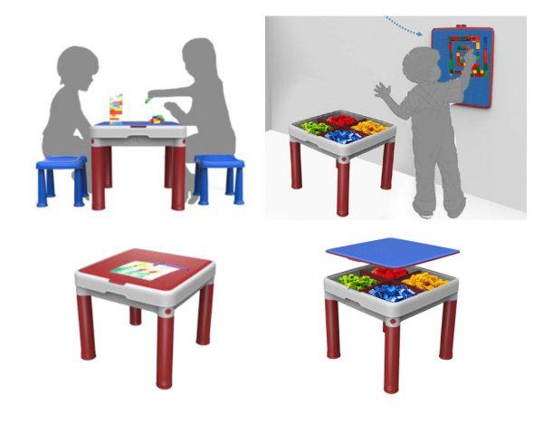"Детский набор Keter ""Construction Lego Table"""