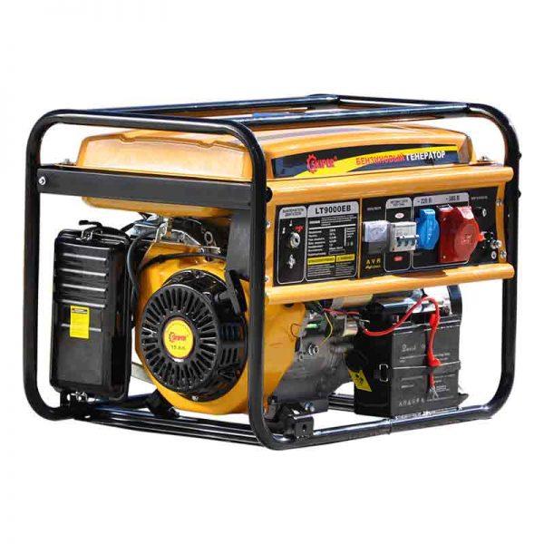 Бензиновый генератор (бензогенератор) Skiper LT9000 ЕВ