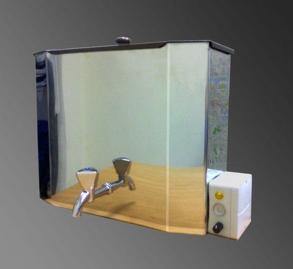 Рукомойник с водонагревателем Петромаш из нержавейки (15 л, 1,25кВт)