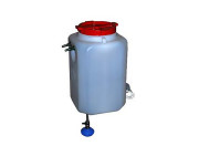 Бак для душа с подогревом и терморегулятором Садко (60 л)