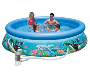 Бассейн с комплектом 305х76 см Easy Set Риф океана Intex 28126/54902
