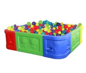 Квадратный бассейн для шариков Sundays QC-10004