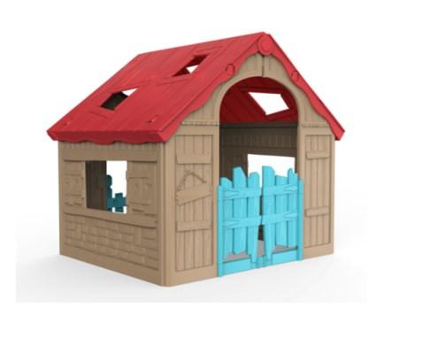 Детский садовый домик KETER FOLDABLE PLAY HOUSE (складной)