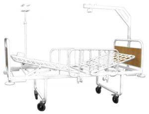 Кровать медицинская 2-секционная «Здоровье-2»