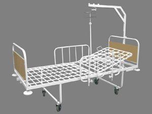 Кровать медицинская 1-секционная «Здоровье-1»