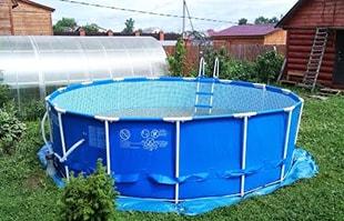 Заказать каркасный бассейн
