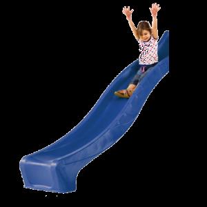 Скат для детской горки 3м Синий