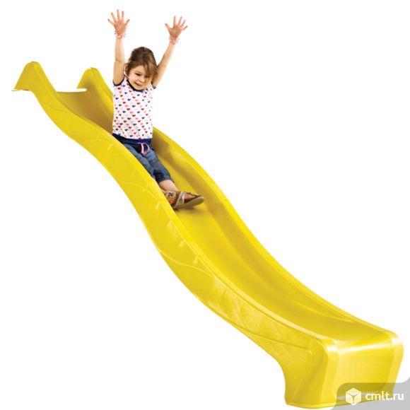 Скат для детской горки 3м Желтый