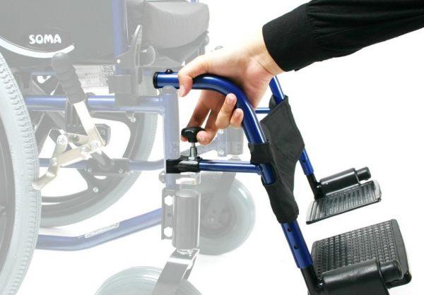 Коляска инвалидная Antar SM-802 (15кг)