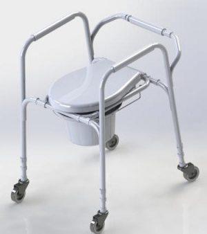 Кресло туалет с колесами Antar AT01003