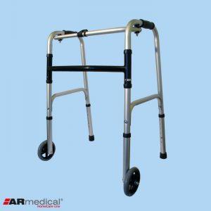 Ходунки медицинские ARmedical AR003 с колесами (шагающие-складные)