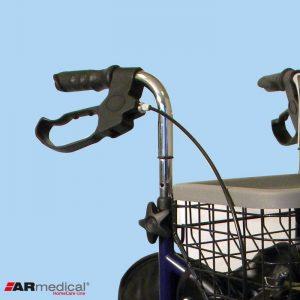 Роллатор 3-колесный с сумкой и корзиной ARmedical AR004