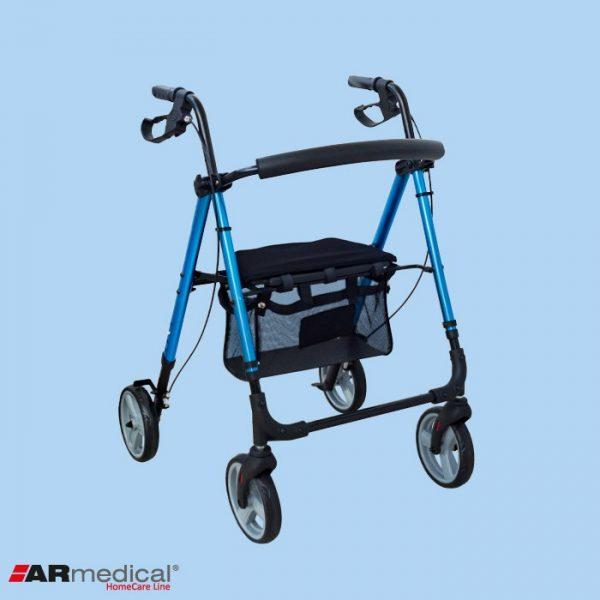 Ролятор 4-х колесный ARmedical AR006 PRESTIGE (складной)