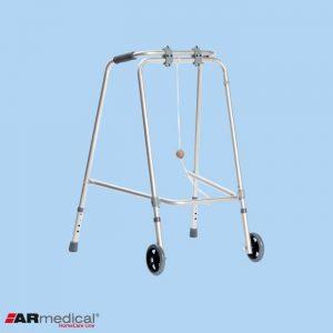 Ходунки медицинские ARmedical AR009 колесами (складные)