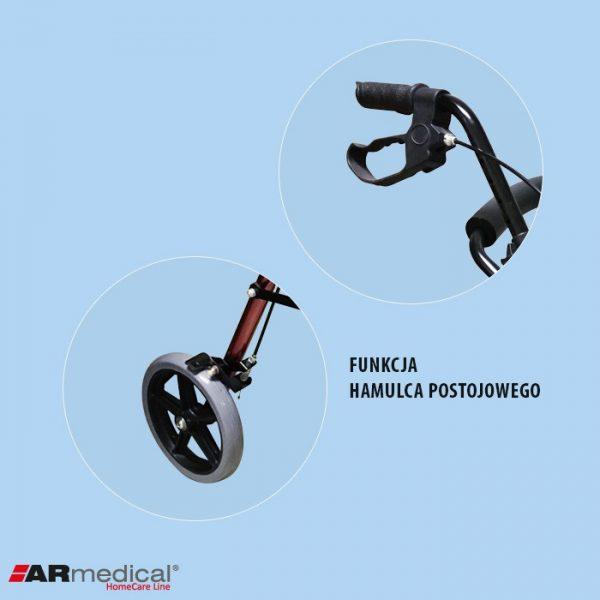 Ролятор функциональный ARmedical AR022 4-х колесный COMFORT