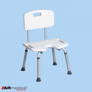 Душевой стул с вырезом для инвалидов ARmedical AR208