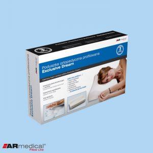 Подушка ортопедическая с массажем и вентиляцией Exclusive Dream