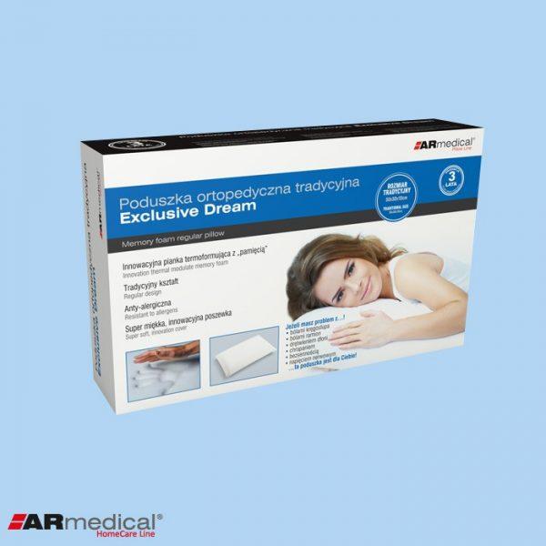 Подушка ортопедическая Exclusive Dream 50x30x10cm