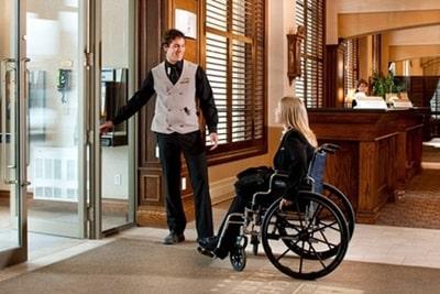 Отели для инвалидов