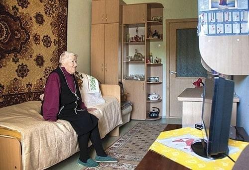 Комфортная квартира для престарелого человека